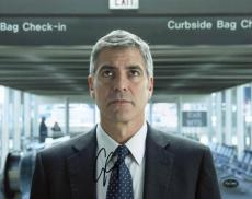 George Clooney Up In The Air Signed 11X14 Photo PSA/DNA #J51584