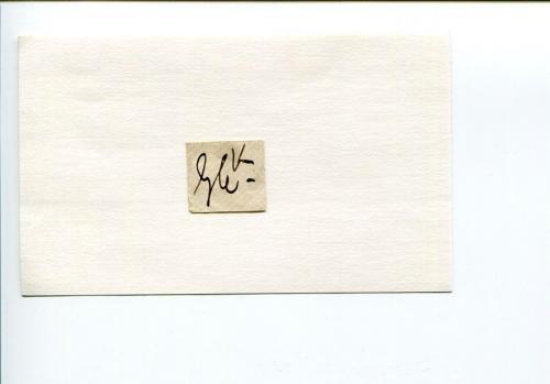 George Cruikshank British Caricaturist Artist Book Illustrator Signed Autograph
