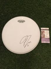 George Eraz Signed Evans Drumhead Jsa/coa **very Rare And A Must See