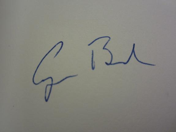 """George H W Bush """"Speaking of Freedom"""" autographed hardcover book JSA COA"""