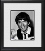 "George Harrison The Beatles Framed 8"" x 10"" Smiling Photograph"