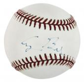 George H.W. Bush Signed William White Onl Baseball BAS #A11560