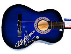 George Jones Autographed Signed Accoustic Guitar