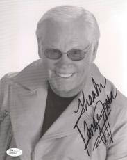 George Jones Autographed Photograph - 8x10 COUNTRY MUSIC LEGEND JSA COA