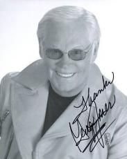 Autographed George Jones Photograph - 8x10 +COA COUNTRY MUSIC LEGEND AWESOME POSE