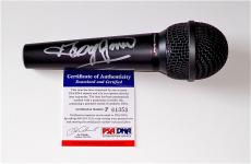 George Jones Signed Microphone Psa Coa P64353