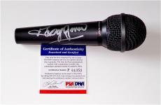 George Jones Signed Microphone Psa Coa P64353
