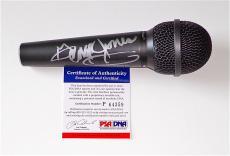 George Jones Signed Microphone Psa Coa P64359