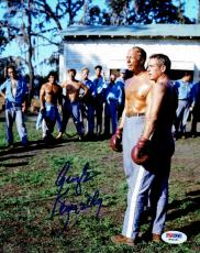 George Kennedy w/ Paul Newman Signed Authentic 8x10 Photo PSA/DNA #2