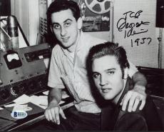 "George Klein ""TCB"" & ""1937"" Signed 8X10 Photo w/ Elvis Presley BAS #B51071"