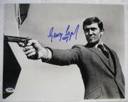 George Lazenby Hand Signed James Bond 16X20 Photo 007 Auto PSA/DNA COA OC Holo