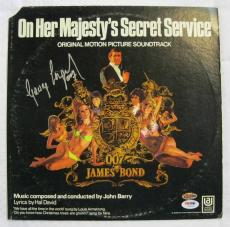 George Lazenby Hand Signed James Bond O.H.M.S.S ALBUM Auto PSA/DNA COA OC DUGOUT