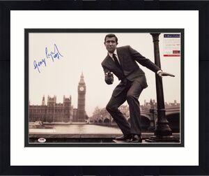 George Lazenby signed 007 James Bond 16x20 Photo #1 Autograph ~ PSA/DNA COA