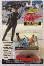 George Lazenby Signed Johnny Ligtning James Bond Car PSA/DNA COA Proof