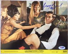 George Lazenby Signed On Her Majesty's Secret Service 8x10 James Bond Lobby Card