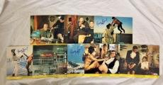 George Lazenby Signed On Her Majestys Secret Service James Bond Lobby 8 Card Set