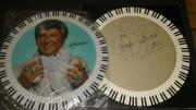 George Liberace Music Legend Signed Autographed Album Cover W/coa W/record Rare
