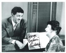 "GEORGE LINDSEY as GOOBER PYLE on ""THE ANDY GRIFFITH SHOW"" Passed Away 2012 - Signed 10x8 B/W Photo"