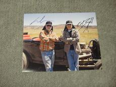 George Lucas And Steven Spielberg Signed 11x14 Photo Coa