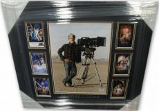 George Lucas Hand Signed Autographed 11X14 Photo Custom Framed PSA DNA