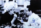 George Lucas JJ Abrams Dual Signed Autographed 12X18 Photo Star Wars PSA X00866