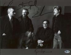 George Lucas Scorsese Spielberg Gord Coppola Signed 11x14 Photo Beckett MINT 9