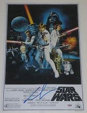 George Lucas Signed 12x18 Photo Star Wars Iv Autograph Poster Coa Psa/dna X90530