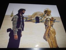 GEORGE LUCAS SIGNED AUTOGRAPH 8x10 PHOTO STAR WARS IN PERSON COA AUTO CP30 NY D