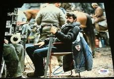"George Lucas Signed Autograph ""star Wars"" On Set Chair 8x10 Photo Psa/dna Y53812"