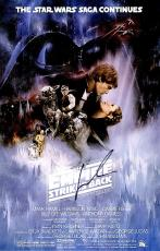 George Lucas Signed - Autographed Star Wars The Empire Strikes Back Director 11x17 inch Photo - Guaranteed to pass PSA or JSA