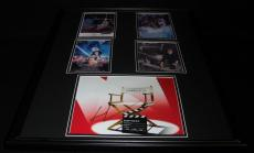 George Lucas Signed Framed 18x24 Photo Display AW Star Wars