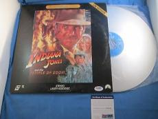 George Lucas Signed Indiana Jones Temple Of Doom Signed Laserdisc PSA DNA COA