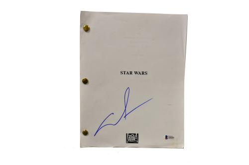 George Lucas Signed Signed Star Wars A New Hope Full Script Autograph Beckett A