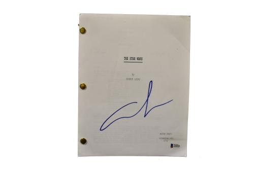 George Lucas Signed Signed Star Wars A New Hope Full Script Autograph Beckett F