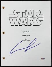George Lucas Signed Star Wars A New Hope Movie Script PSA/DNA #AA82763