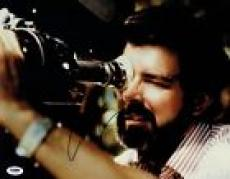 George Lucas Signed Star Wars Director Authentic 11x14 Photo PSA/DNA #J03456