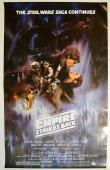 George Lucas Signed Star Wars Empire Strikes Back 27X40 Poster AFTAL UACC RD COA