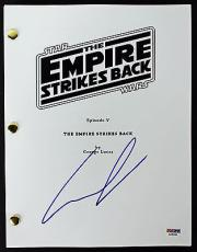 George Lucas Signed Star Wars The Empire Strikes Back Script PSA/DNA #AA55165