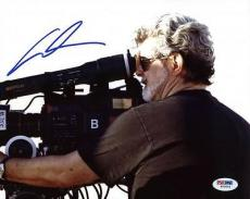 George Lucas Star Wars Signed 8X10 Photo Autographed PSA/DNA #W79544