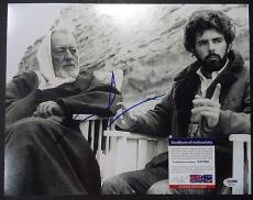 George Lucas Star Wars Signed Autographed 11x14 Photo W/coa Psa/dna Coa A Rare