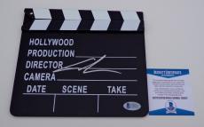 George Lucas Star Wars Signed Movie Clapboard Beckett Bas Coa C89037