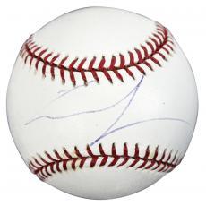 George Lucas Star Wars The Last Jedi Signed OML Baseball PSA #H64157