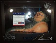 George Lucas Star Wars Signed Autographed Jabba The Hutt Figure Psa/dna Coa Rare