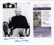 George Martin Autographed Photograph - 4x6 BEATLES PRODUCER TO BRIAN JSA