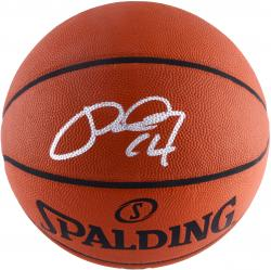 Paul George Indiana Pacers Autographed Authentic NBA Basketball - Mounted Memories  - Mounted Memories