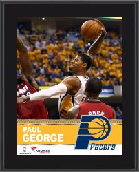 "Paul George Indiana Pacers Sublimated 10.5"" x 13"" Plaque"