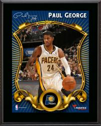 "Paul George Indiana Pacers Sublimated 10.5"" x 13"" Stylized Plaque"