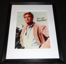 George Peppard Signed Framed 8x10 Photo JSA Breakfast at Tiffany's A Team