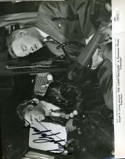 George Peppard Signed Jsa Certed 8x10 Photo Authenticated Autograph
