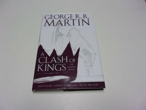 George R. Martin A Clash Of Kings Author Jsa/coa Signed Book